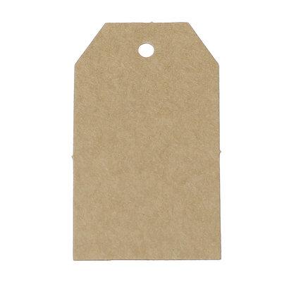 10 kraft label 4.5 x 7 cm