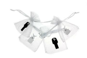 Organza zakjes 7.5 x 10 trouwen