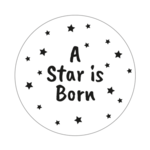 Ronde stickers a star is born