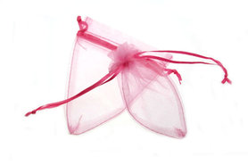 50 Organza puntzakje Roze