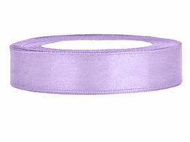 Lavendel satijn lint 1 cm breed