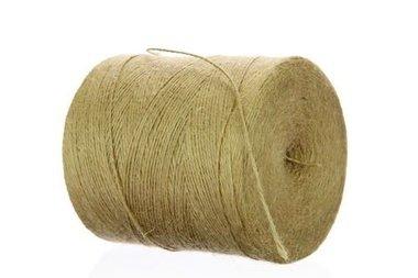 Jute touw 2 draads 1 kilo spoel