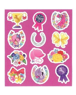 Traktatie stickers pony
