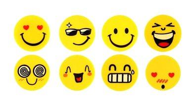 Emoji gummetjes 4 stuks