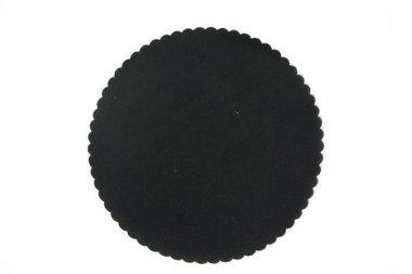 50 Tule cirkels Zwart