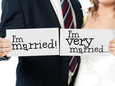 Kaart I'm married & I'm very married