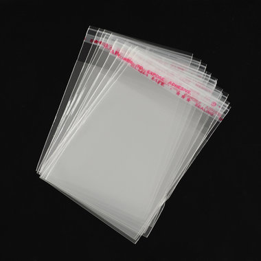 10 cellofaan zakjes 6 x 8 cm