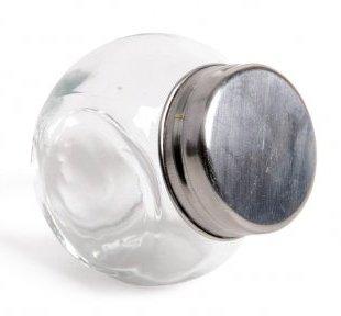 Glazen voorraadpotje