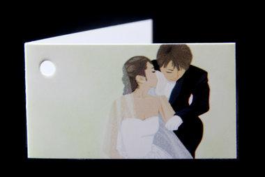Kaartjes bruidspaar