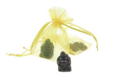 Gelukszakje Boeddha 3 cm