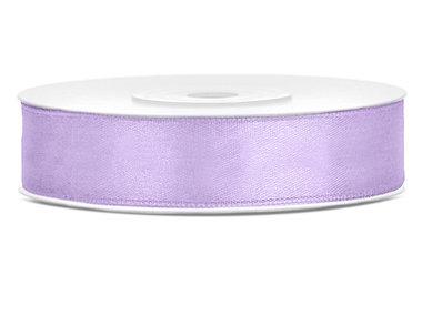 Lavendel satijn lint 1.2 cm breed