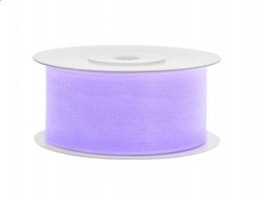 Organza lint 38 mm Lavendel