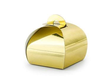 Goud vouwdoosje
