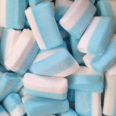 Belgische spekken wit licht blauw rechthoek