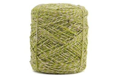 Flaxcord twisted groen 3.5 mm dik 10 meter