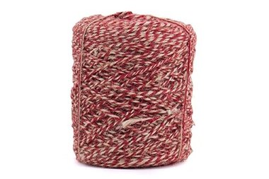 Flaxcord twisted rood 3.5 mm dik 10 meter