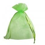 Organza zakje 10 x 15 cm Lime groen