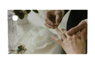 Kaartje Handen bruidspaar