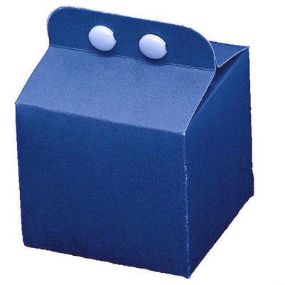Kubusdoosje blauw