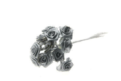 Roosjes zilver