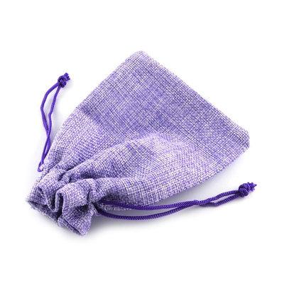 Jute zakje Lavendel 7 x 9 cm