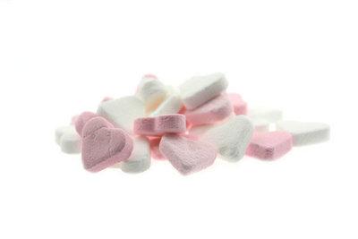 Hartjes wit-roze fortuin
