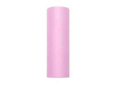Tule lint roze 15 cm