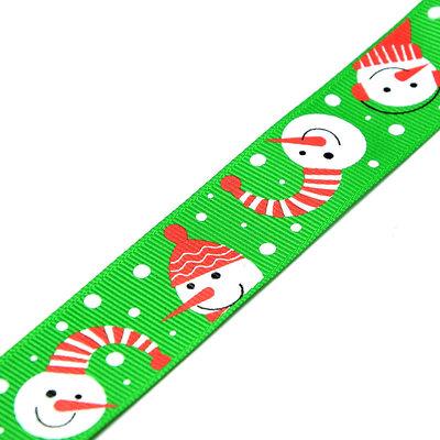 Kerstlint sneeuwpop