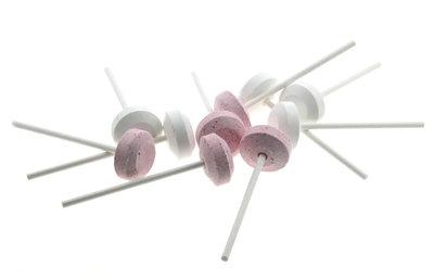 Lolly roze en wit 10 stuks