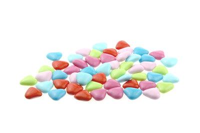 1 kilo Bruidsuiker hartvormig mini mix