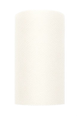 Tule lint ivoor 8 cm