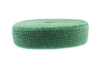 Jute lint groen per meter