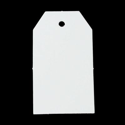 10 label wit 4 x 7 cm