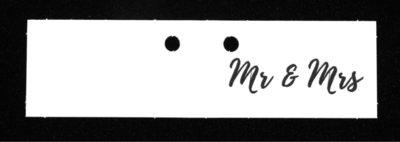 Kaartjes MR & MRS