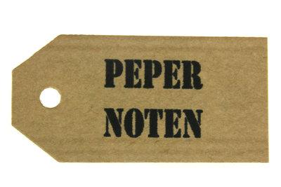 Kraft label pepernoten