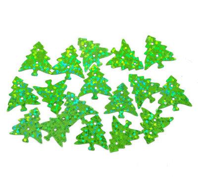 Kerst confetti kerstboom