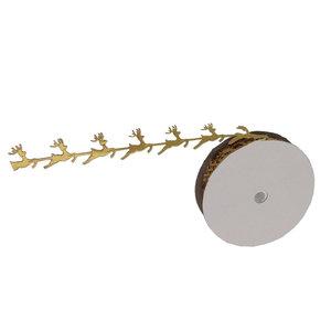 Rendier lint goud metalic 20 yard, 18.2 meter