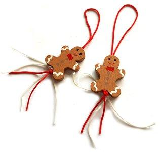 Gelukspoppetjes gingerbread