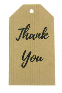 label thank you