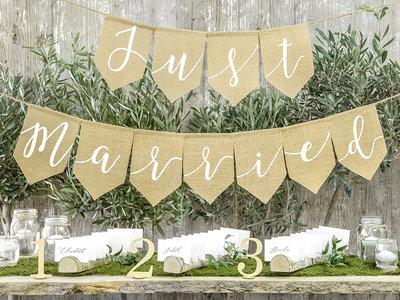Jute slinger just married
