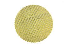 50 Tule cirkel goud - goud blokjes